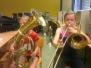 Workshop 50 Jahre Grundschule - Wir probieren Instrumente aus